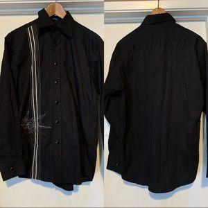 Black Button Down Shirt